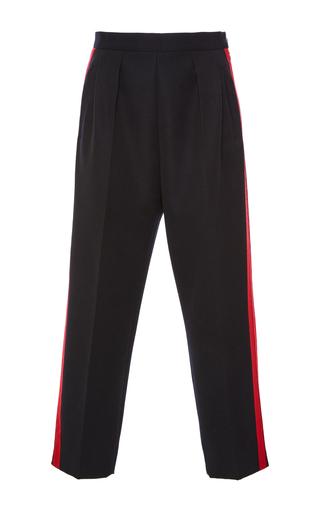 Medium maison margiela navy tuxedo stripe trousers