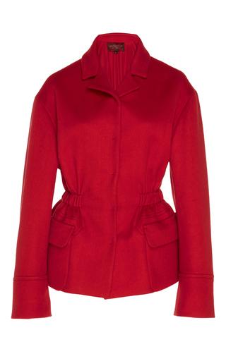 Medium giambattista valli red notch collar jacket