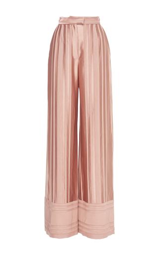 Medium martin grant pink wide leg pajama pants