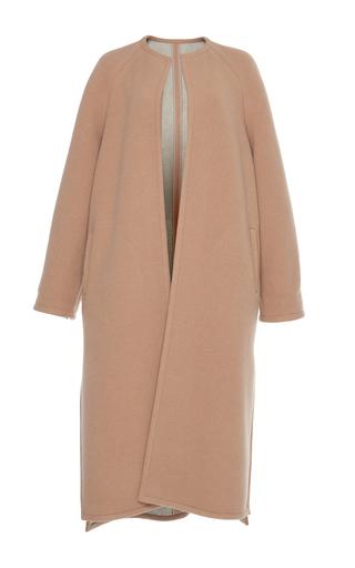 Medium martin grant neutral oversized wool coat 2