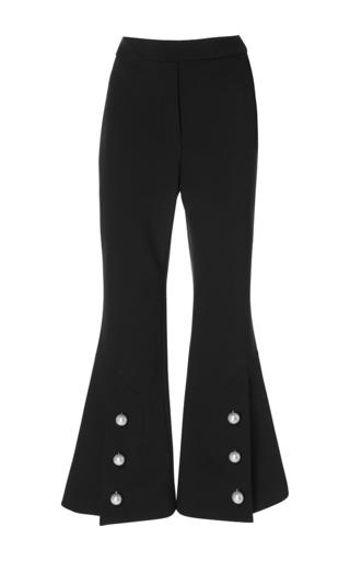Medium ellery black fourth element cropped flare trouser