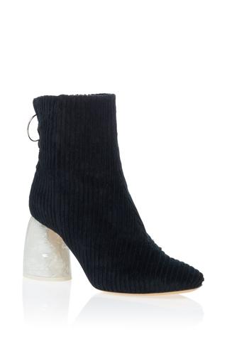 Medium ellery black marble heel bootie