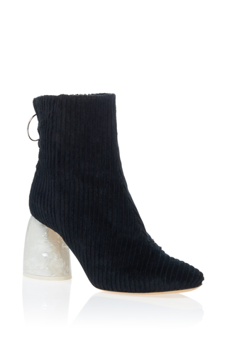 Medium ellery black marble heel bootie