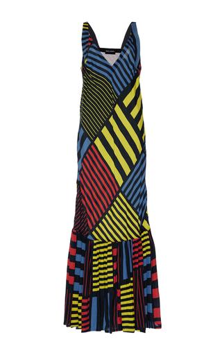 Medium rahul mishra print mondrian inspired maxi dress