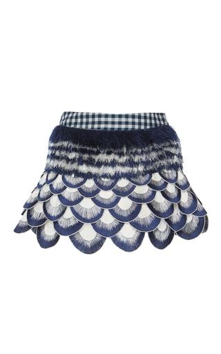 Medium rahul mishra multi winter marigold mini skirt