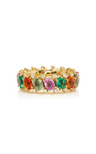 Medium qayten multi ez multicolored ring 2
