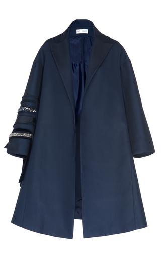 Medium dice kayek navy embellished coat
