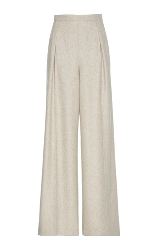 Medium rossella jardini neutral high waisted wide leg pants