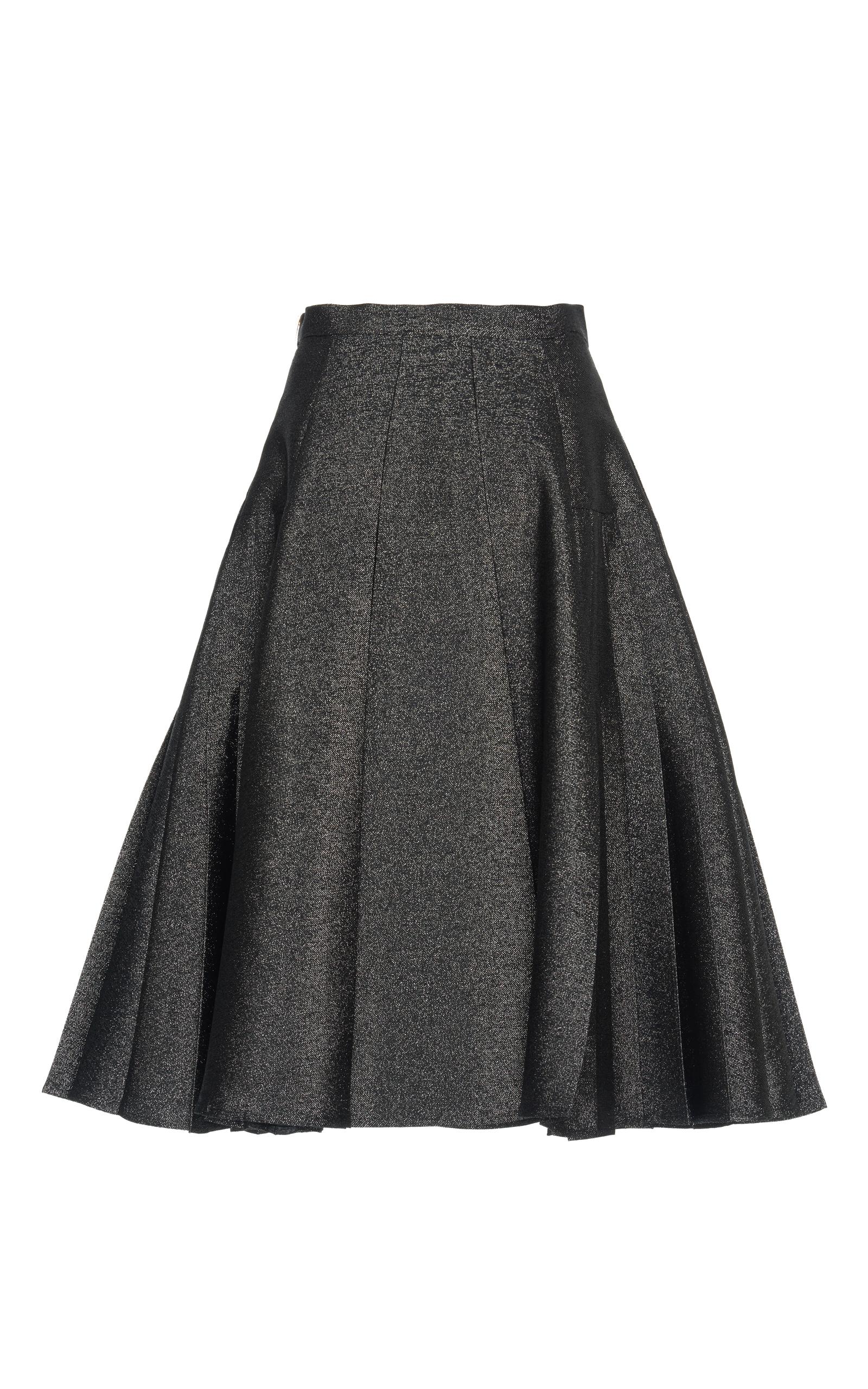 A-line Pleated Skirt by Rossella Jardini | Moda Operandi