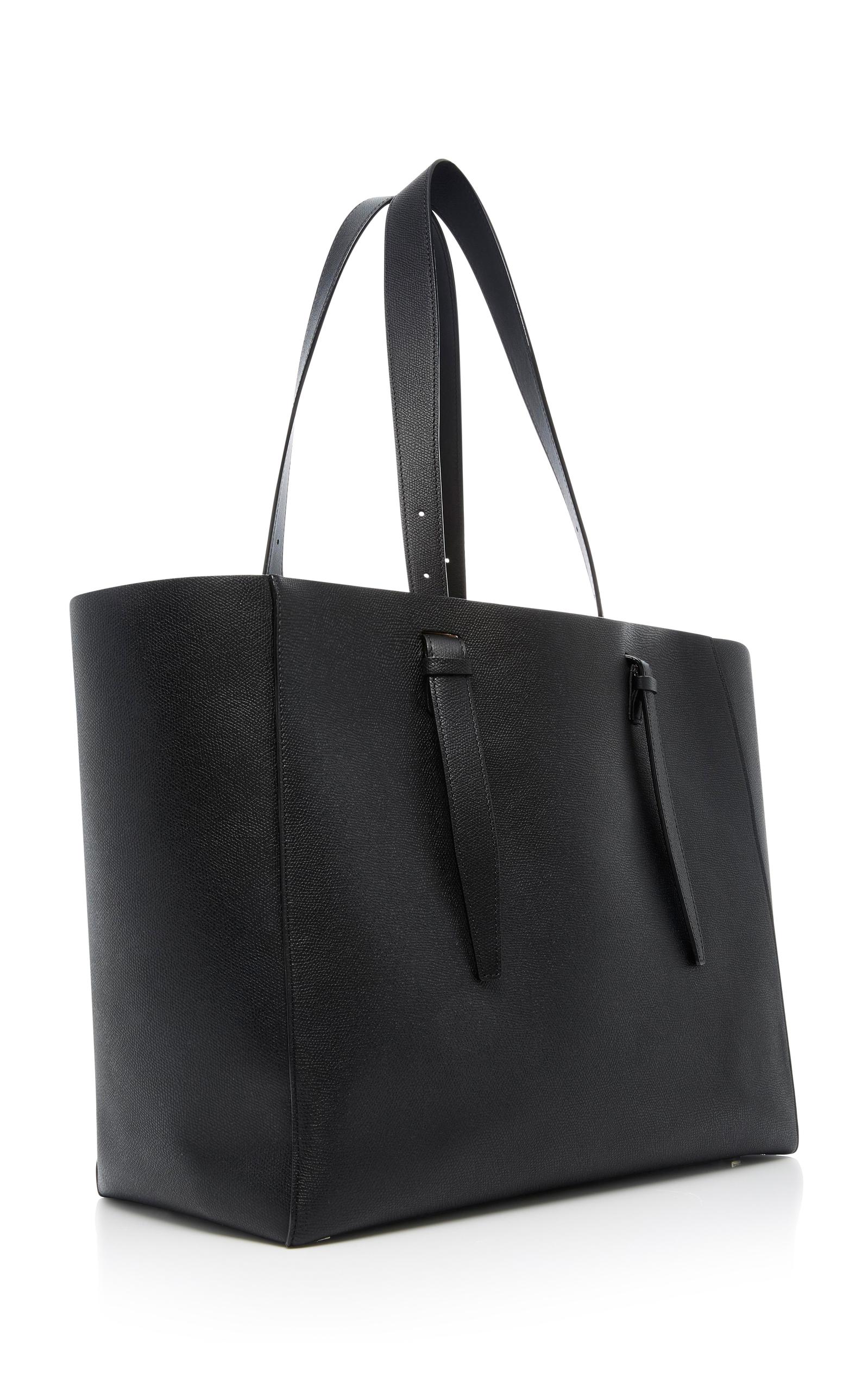 Valextra Soft XL Leather Tote EjrMHUUV