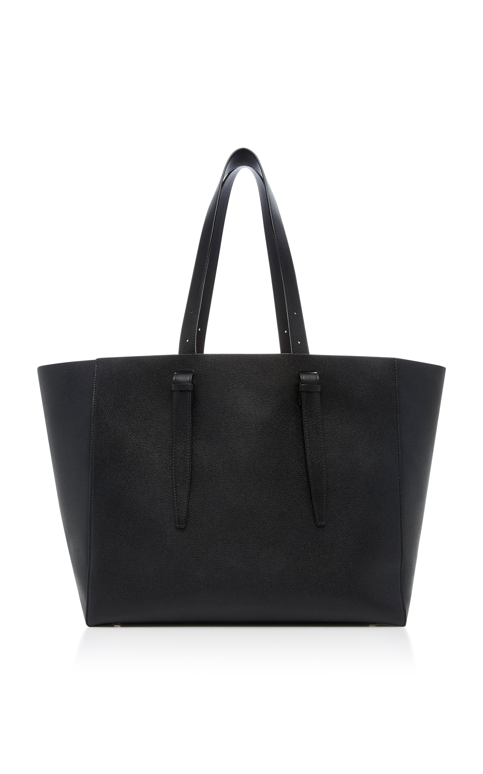 Valextra Soft XL Leather Tote 63sVC