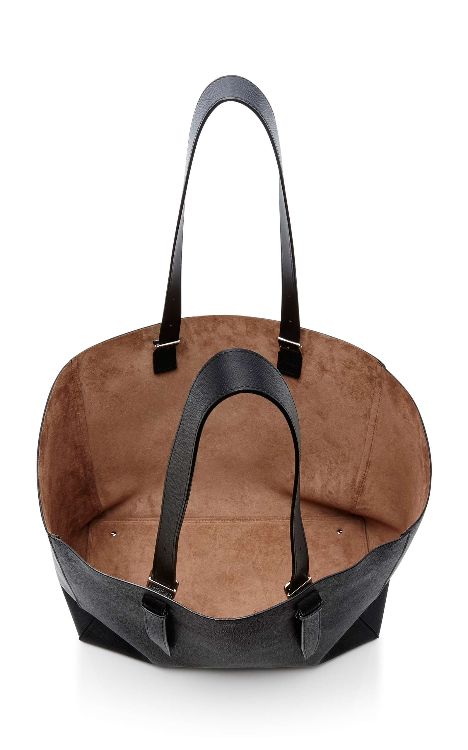 Soft XL Leather Tote Valextra