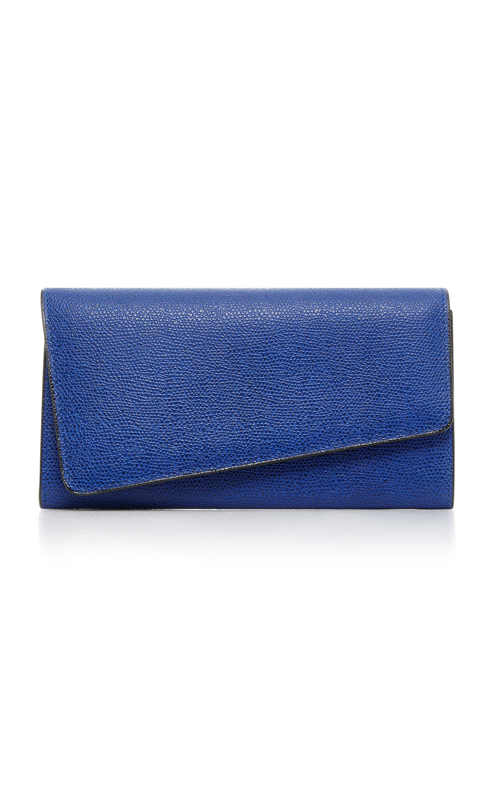 TWIST LEATHER PURSE