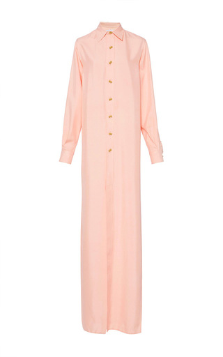 Medium rebecca de ravenel pink the ming shirt in pale pink