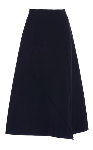 Medium paskal black asymmetrical midi skirt