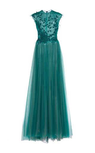 Medium costarellos green fairy embroidered gown