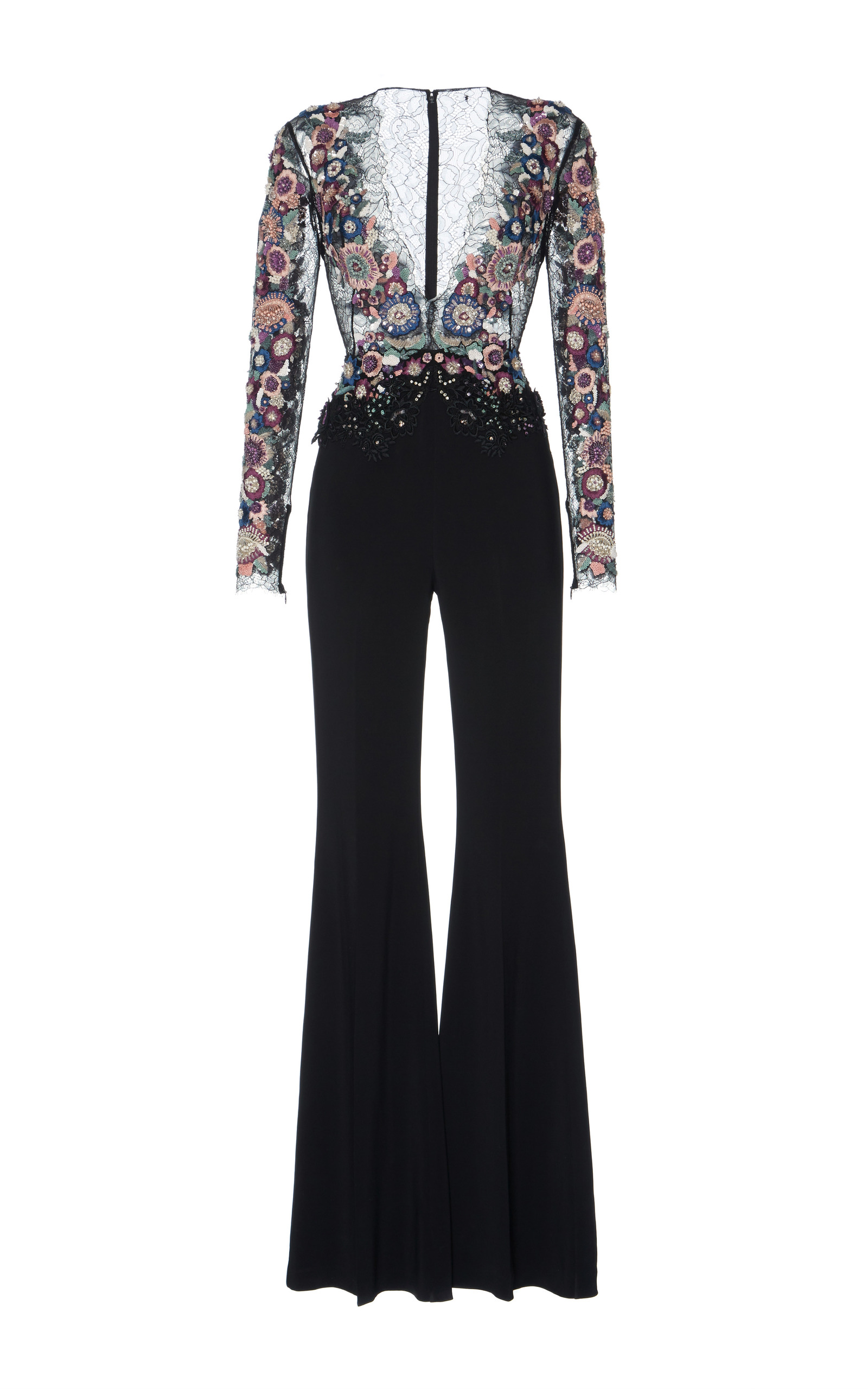 575ed8ec5611 Zuhair MuradSequin Embroidered Jumpsuit. CLOSE. Loading
