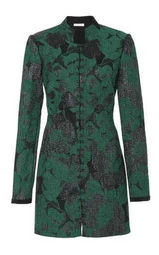 Medium eleanor balfour green svea jacquard mini dress