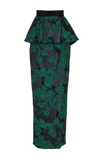 Medium eleanor balfour green saskia peplum skirt