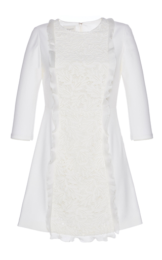 Medium giuseppe di morabito white macrame mini dress