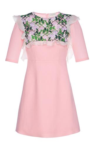 Medium giuseppe di morabito pink embroidered mini dress