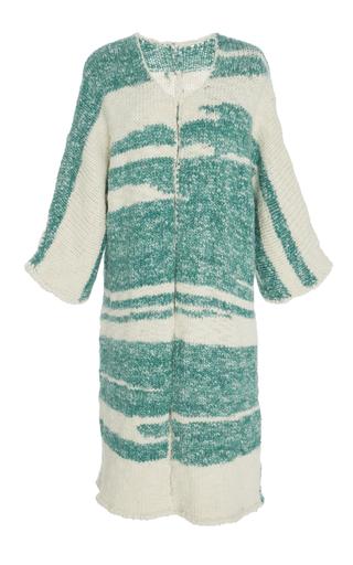 Medium whit multi wrap cardigan sweater