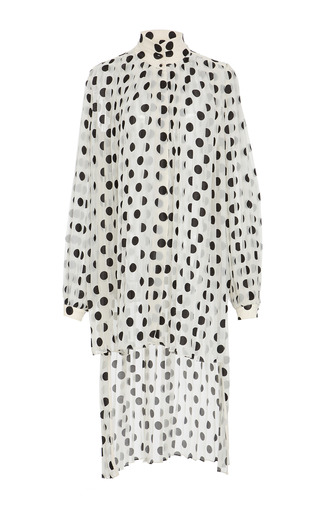 Medium zimmermann print rife polka dot blouse