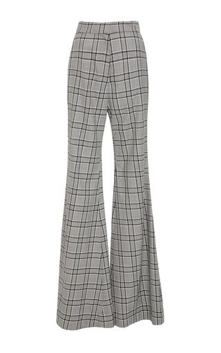 Medium zimmermann plaid rife flare trouser