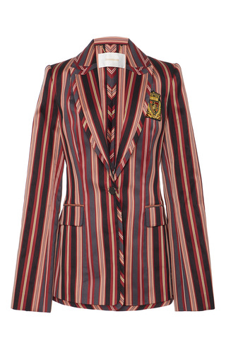 Medium zimmermann stripe folly uniform blazer