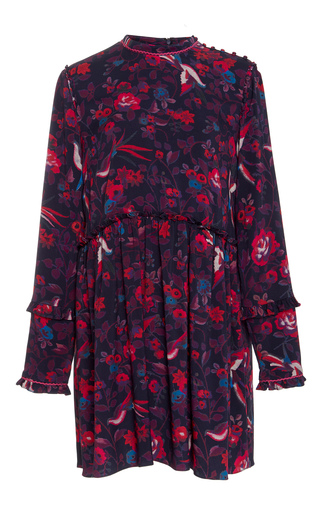 Medium tanya taylor floral dyllan floral print dress