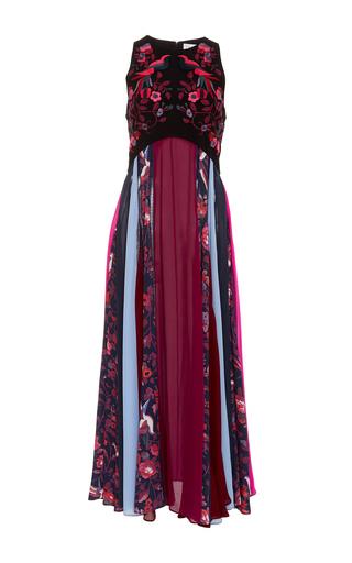 Medium tanya taylor multi hillary floral panel dress