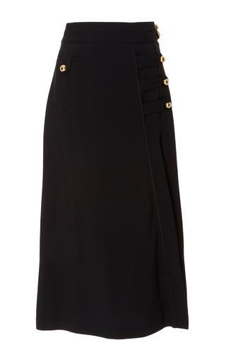 Medium tanya taylor black wesley twill skirt
