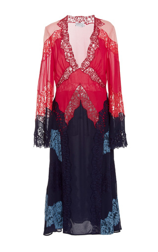 Medium tanya taylor multi emeline silk dress