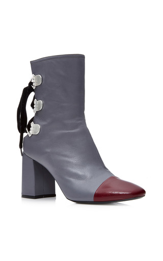 Medium tanya taylor grey marta two tone boot