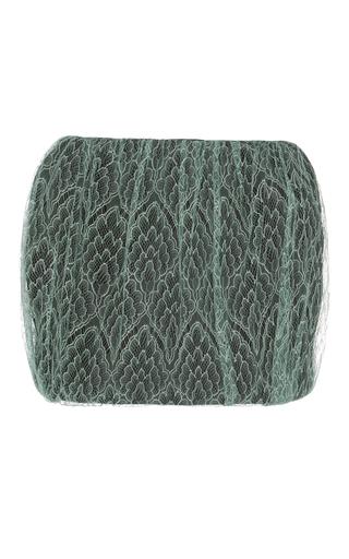 Medium emilio de la morena green lace mini skirt