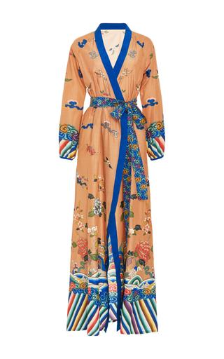 Medium rhode resort floral jagger printed wrap dress