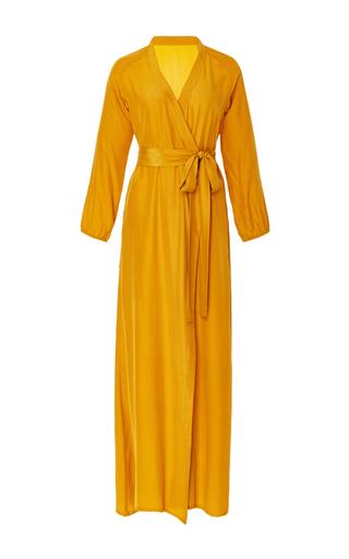 Medium rhode resort yellow silk jagger dress