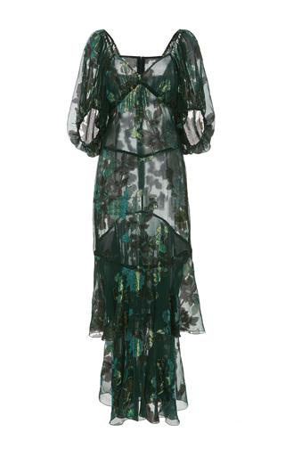 Medium anna sui green moonlight garden dress
