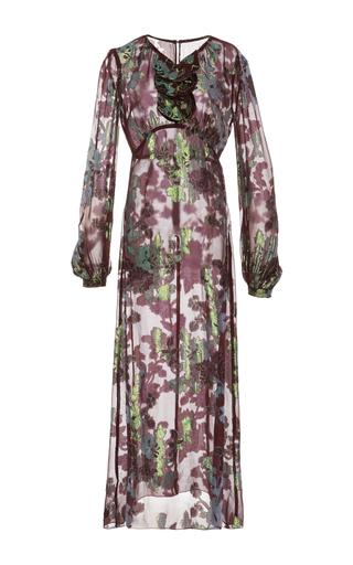 Medium anna sui print moonlight garden chiffon dress