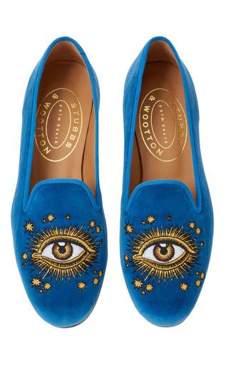 Medium stubbs wootton blue providence slipper