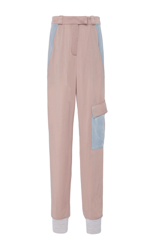 Medium zoe jordan neutral fiennes color block trousers