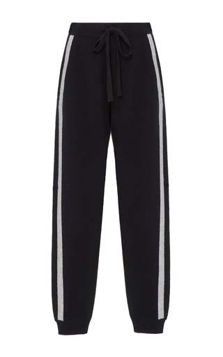 Medium zoe jordan black zanzi stripe trousers