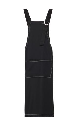 Medium zoe jordan black kingsley apron dress