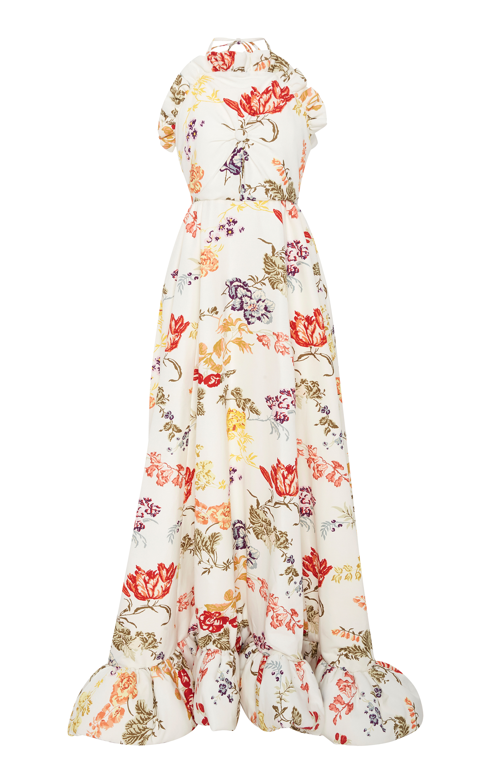Floral-printed skirt Rosie Assoulin Wholesale Price Online Genuine Cheap Online Limited Edition Sale Online VhIKWX