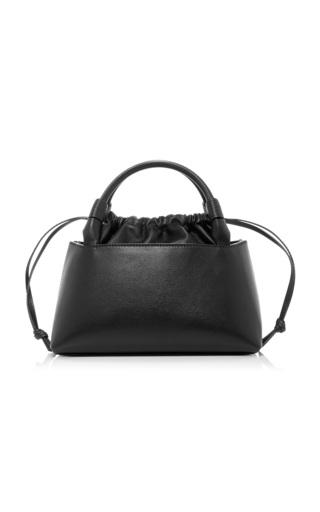 Medium carolina santo domingo black sirena leather bag