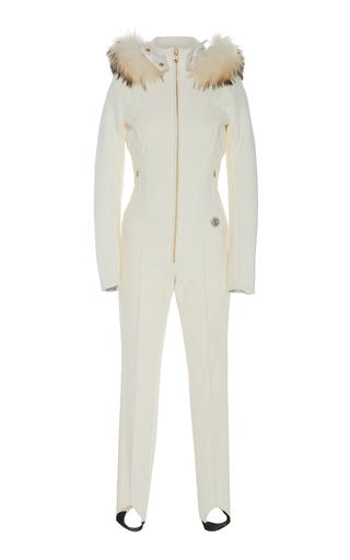 BOGNER | Bogner Fur-Trimmed Shell Ski Suit | Goxip