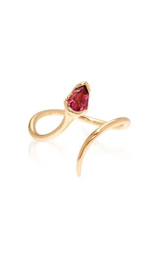 Medium fernando jorge pink sprout open pink tourmaline ring