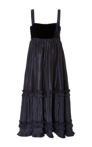 Medium jill stuart black renata tiered dress