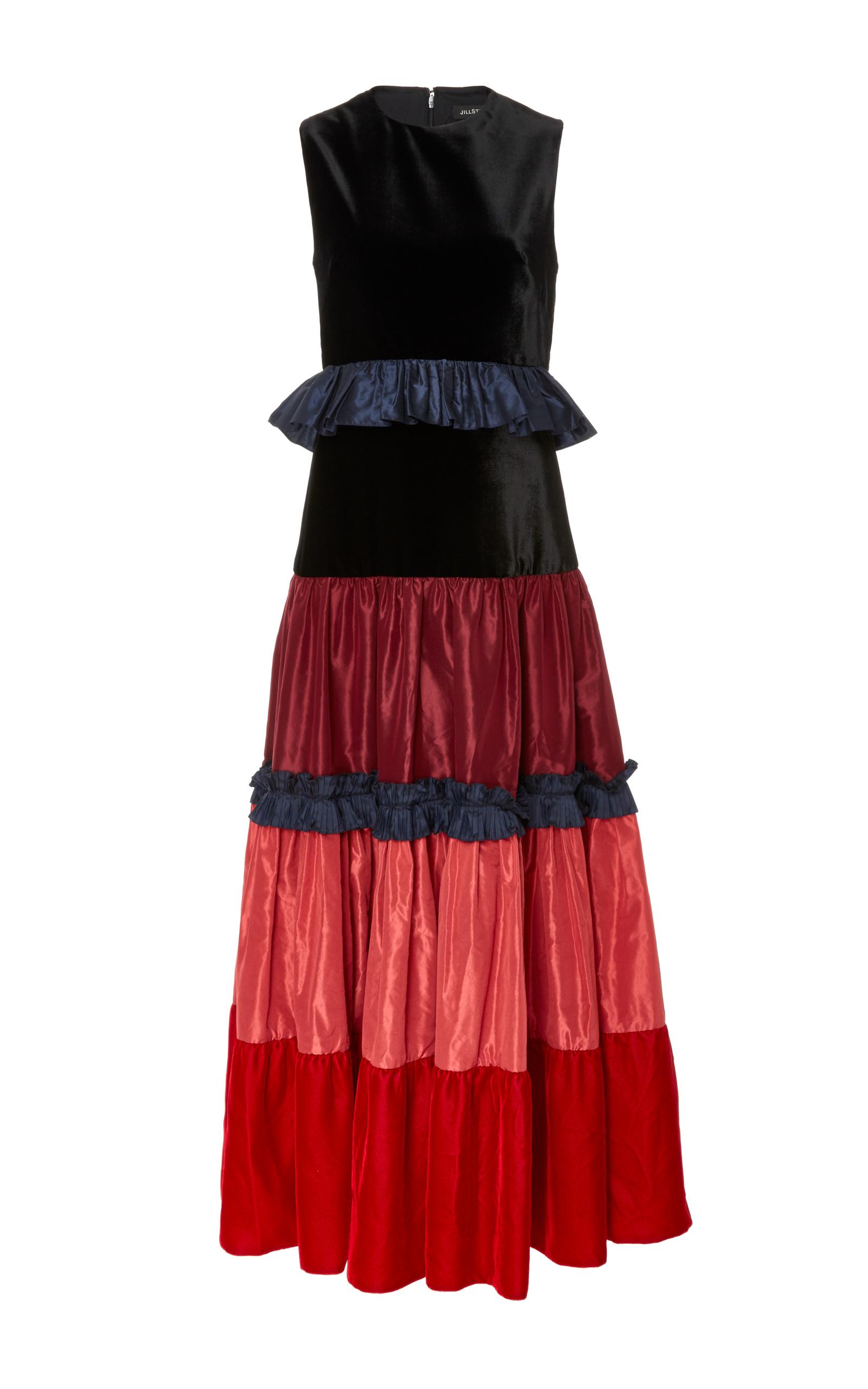 1af0c6c93188 Tiered Velvet Tami Dress by Jill Stuart | Moda Operandi