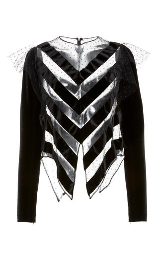 Medium jill stuart black rae tulle top